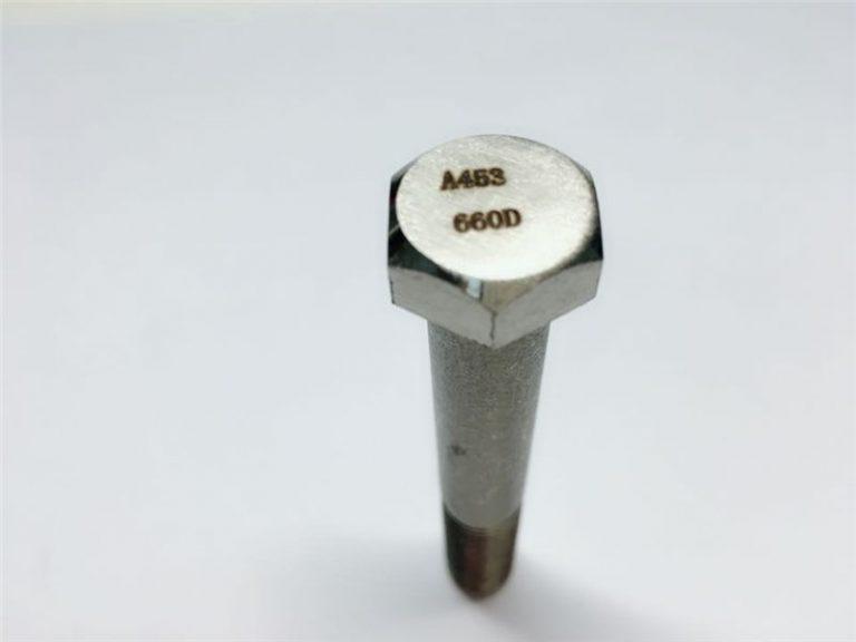 a286 kvaliteetsed kinnitusdetailid astm a453 660 en1.4980 riistvara masinakruvide kinnitused