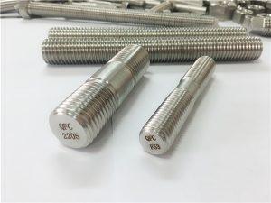 Nr 80-duplex 2205 S32205 2507 S32750 1.4410 kõrge kvaliteediga riistvara kinnitus puidust keermestatud varda ankur