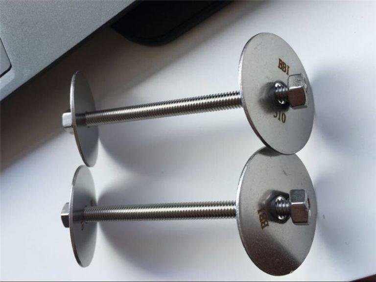 ss310 / ss310s astm f593 kinnitus, roostevabast terasest poldid, mutrid ja seibid