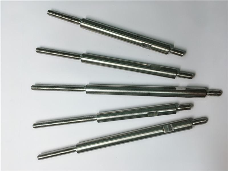 cnc-täpsusega mehaanilised roostevabast terasest keermestatud kinnitusdetailid