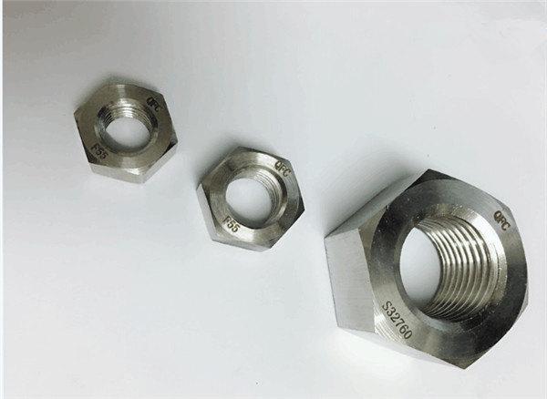 duplex 2205 / f55 / 1.4501 / s32760 roostevabast terasest kinnitusdetailid raske kuuskantmutter m20